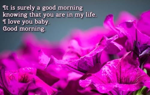 Romantic good messages